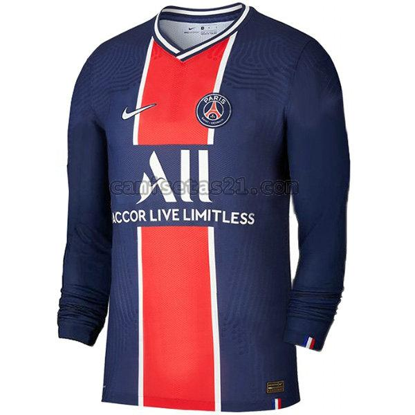 paris saint germain primera camisetas de futbol 2020-2021 ml hombre