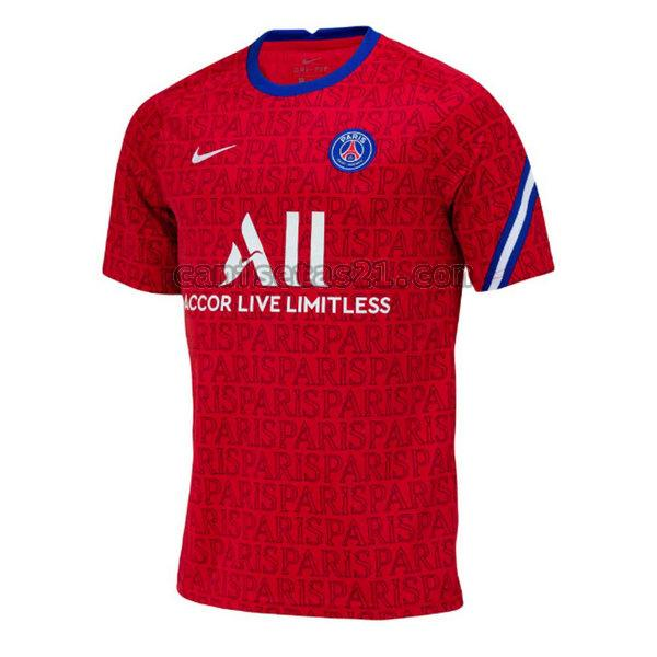 paris saint germain training camisetas de futbol 2020-2021 tailandia hombre