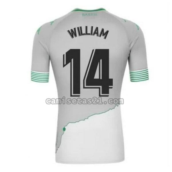 real betis tercera camisetas de futbol 2020-2021 william 14 hombre